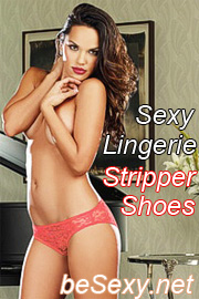 Sexy Lingerie Stripper Shoes beSexy.net