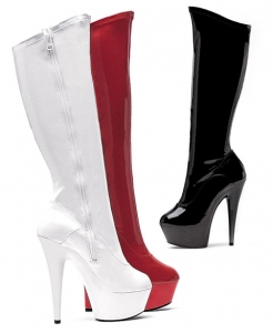 609-Emma Ellie Boots, 6 inch Pointed Stiletto high heels