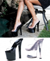 711-Coco Ellie Shoes, 7 inch pointed Stiletto high heels