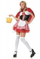 83220 Leg Avenue Costume,  lil' red riding hood costume, includes