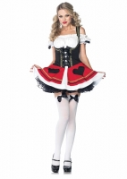 83688 Leg Avenue Costume, Bavarian Beauty, features peasant dress wit